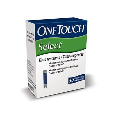 Tiras Reagentes One Touch Select